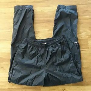 Nike vintage windbreaker nylon joggers navy medium